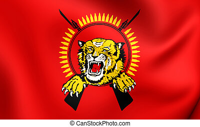 Flag of Tamil Eelam Close Up