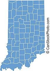 Indiana states