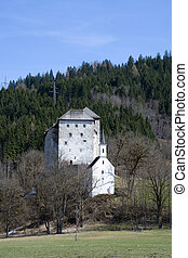 Kaprun Castle, Pinzgau, Austria - Kaprun Castle, a medieval...