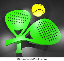 Paddle rackets - Creative design of Paddle rackets