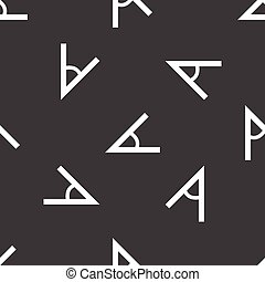 Angle pattern - Vector image of angle repeated on grey...
