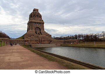 Monument to the Battle of the Nations Volkerschlachtdenkmal...