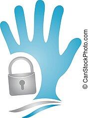 anti theft symbol - Creative design of anti theft symbol