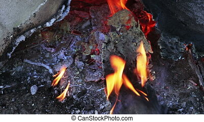 Waste incineration - On my cottage house burn unnecessary...