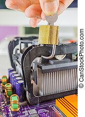 computer data security enhancement - Concept of computer...