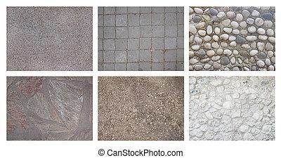 Estratto,  set, pietra, fondo