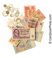 old soviet russian money