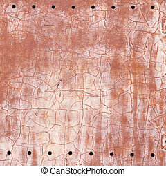 Corroded old rusty metal sheet texture
