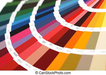 RAL, amostra, cores, catálogo