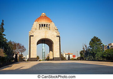Monument to the Revolution, Mexico city downtown - Monument...