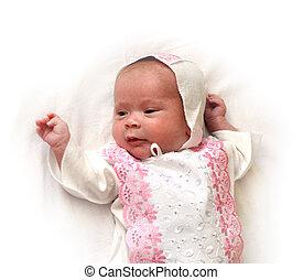 newborn femaly baby