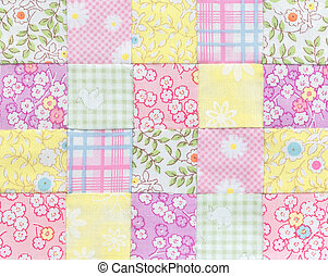 Patchwork Quilt , Basic pattern - Patchwork Quilt , Basic...