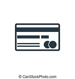 bank card icon - credit card icon