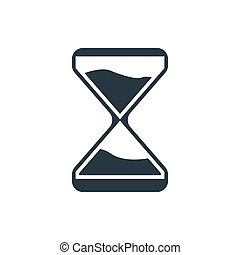 clock glass icon