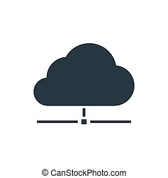 directory cloud groupe icon - cloud data icon