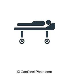 icon barrow - medical barrow icon