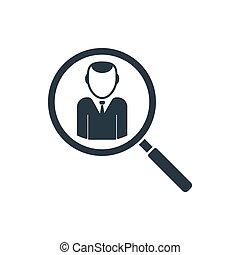 icon recruting - recruitment icon