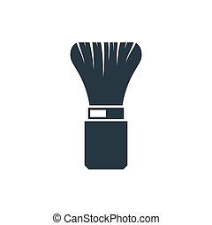 icon Shaving brush