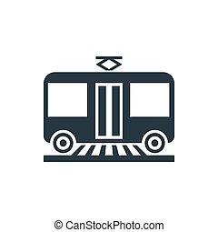 icon tram profile