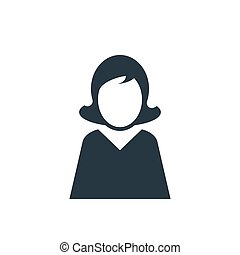 icon woman user