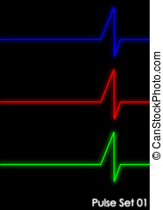 Pulse - Set 1 - A set of graphical pulse