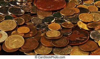 rotatory coins loop
