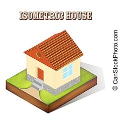 illustration of a house with a wind