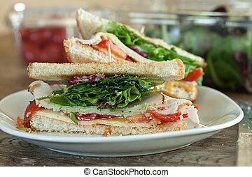 Turkey Sandwich Halves