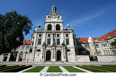 Munchen - Bayerisches Nationalmuseum - National Museum of...
