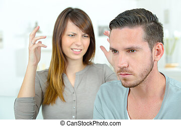 Couple going though a bit of a rough patch