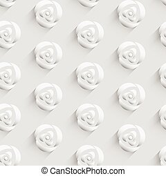 Pattern background with rose flower