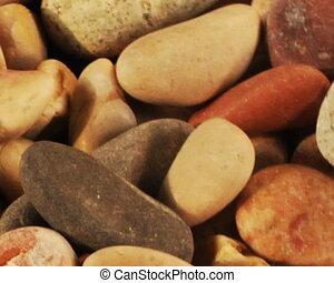 beach stones rotate loop