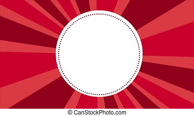 label on red background, Video animation - Red Background,...