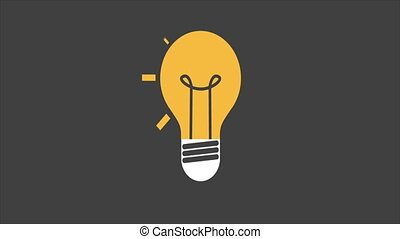Lightbulb Video animation - Ligh bulb video animation, Video...