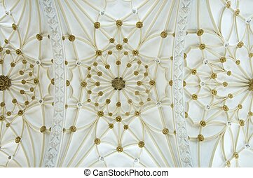 vault of the church of Santo Domingo in Alcañiz, Spain