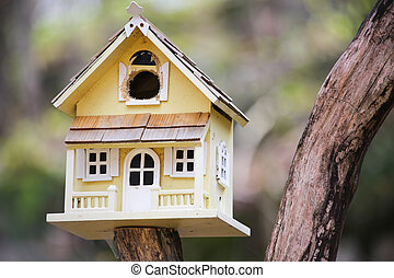 Guest House - Cute little bird house at the cottage reminds...