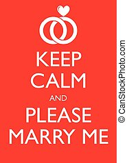 Poster Illustration Graphic Vector Keep Calm And Please...