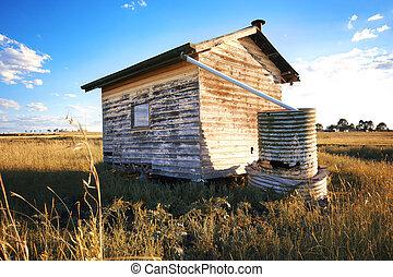 costruzione,  Outback, abbandonato