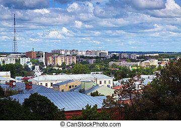 Top view of Vladimir city, Russia