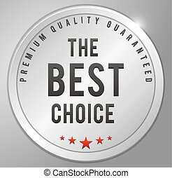 The best choice Silver badge