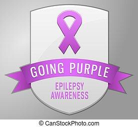 Epilepsy badge
