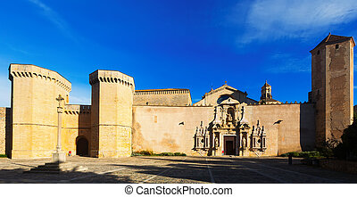 Royal Abbey of Santa Maria de Poblet Catalonia