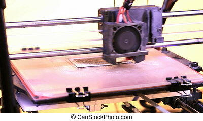 Open Source 3D Printer - Three dimensional printer, Printing...