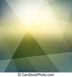 Background with sunset. Abstract vector illustration. Can be...