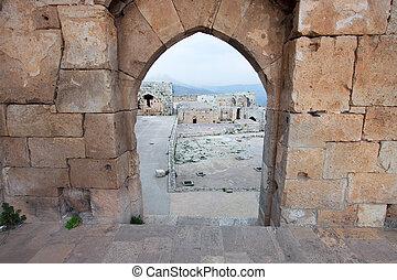 Castle of Crac de los Caballeros, Syria