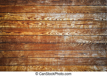 wooden wall - Brown wooden wall textured background