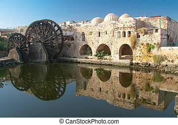 Reflect in Hama, Syria