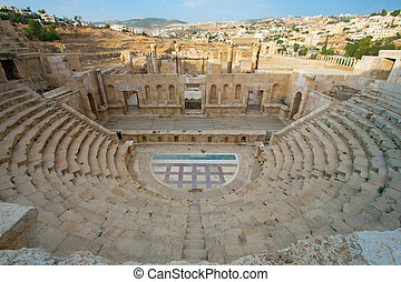 Theater of Jerash, Jordan