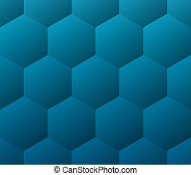 Blue medical abstract geometric background