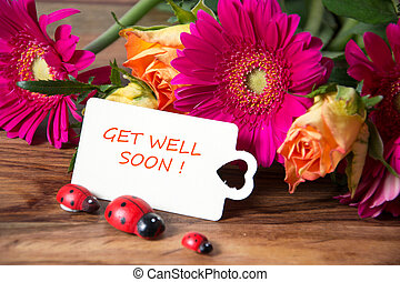 get well soon - nice decoration
